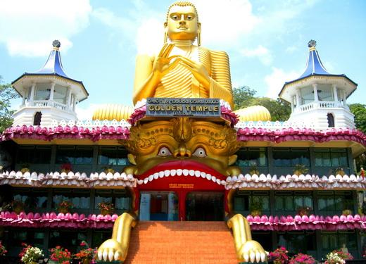 מקדש הזהב בסרי לנקה